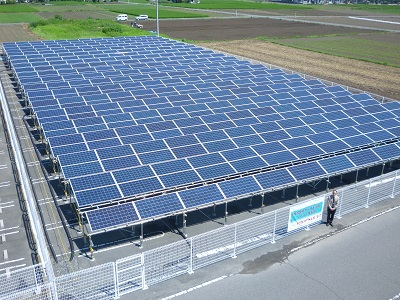130KW on grid system